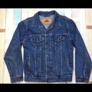JORDACHE Heavy Jean Jacket Size S